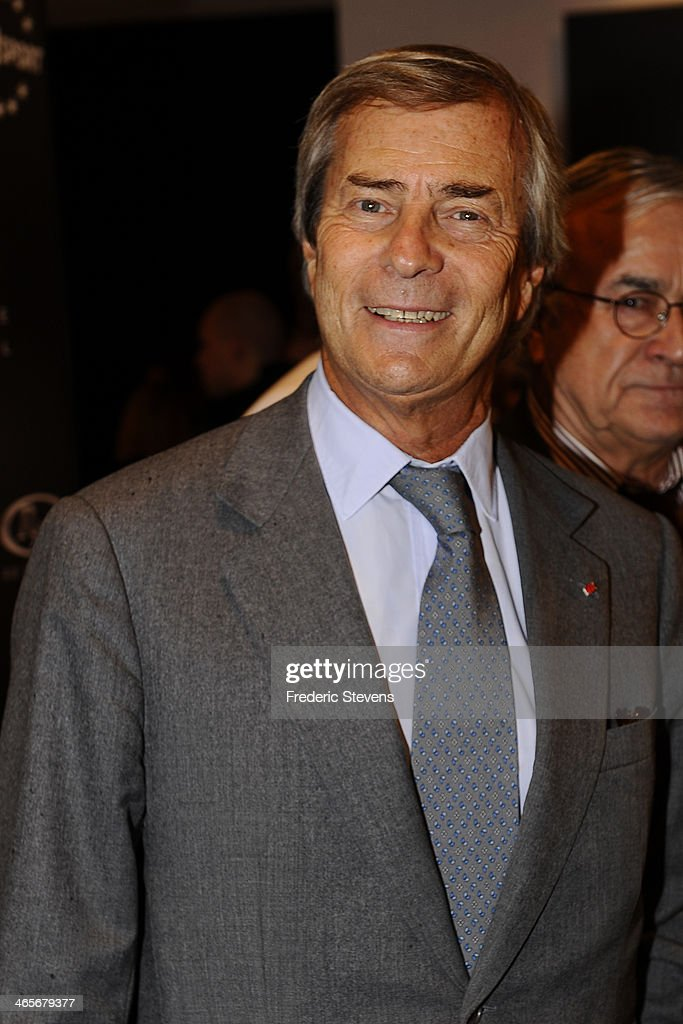Head of groupe Bollore Vincent Bollore during the 29th International Automobile Festival on January 28, 2014 in Paris, France.
