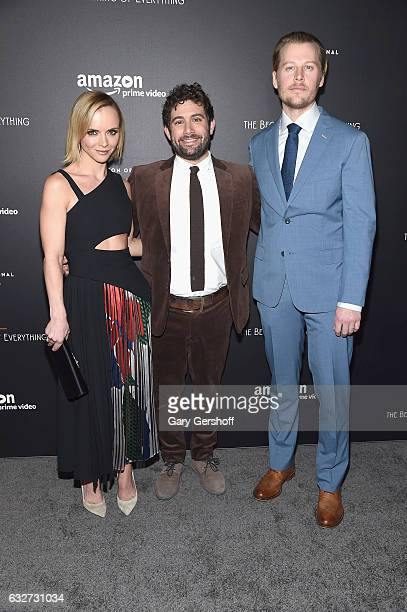 Head of Half Hour and Drama Series Development for Amazon Joe Lewis with actress and executive producer Christina Ricci and actor David Hoflin attend...
