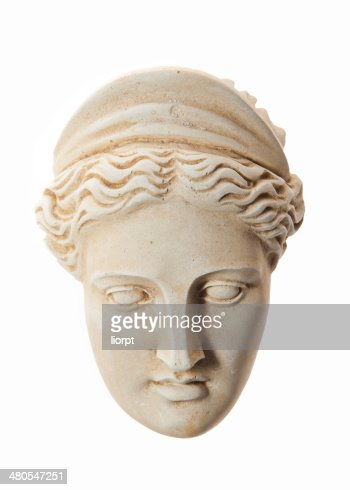 Head of Hera sculpture : Stock Photo