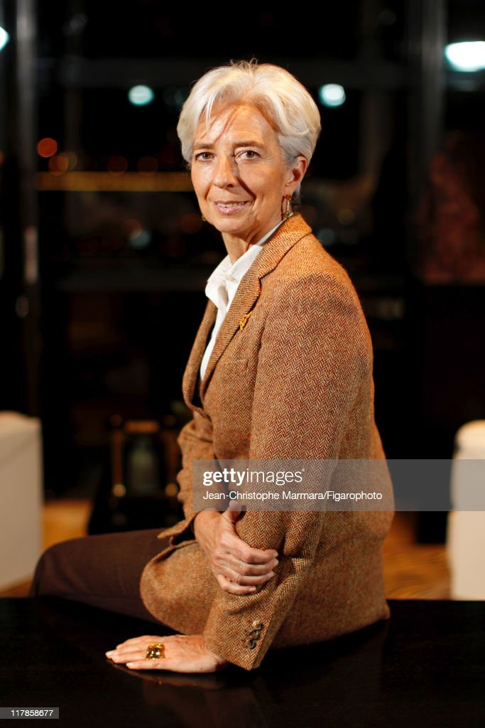 Head of IMF Christine Lagarde is photographed for Le Figaro Magazine on February 15, 2011 in Paris, France. Figaro