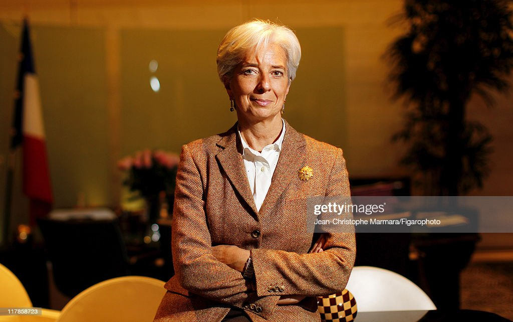 Head of IMF <a gi-track='captionPersonalityLinkClicked' href=/galleries/search?phrase=Christine+Lagarde&family=editorial&specificpeople=566337 ng-click='$event.stopPropagation()'>Christine Lagarde</a> is photographed for Le Figaro Magazine on February 15, 2011 in Paris, France. Figaro