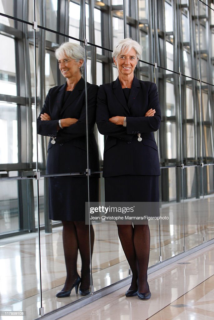 Head of IMF Christine Lagarde is photographed for Le Figaro Magazine on September 14, 2010 in Paris, France. Published image. Figaro