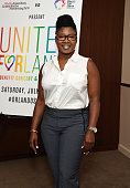 Head of Logo Documentary Films Tajamika Paxton attends The Wallis and The Los Angeles LGBT Center presentation of United FORlando at the Wallis...
