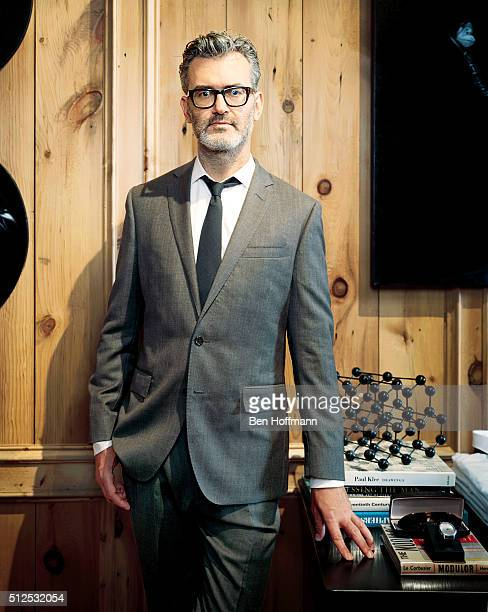 Head of men's fashion for JCrew Frank Muytjens is photographed for T Magazine on August 7 2010 in New York City PUBLISHED IMAGE