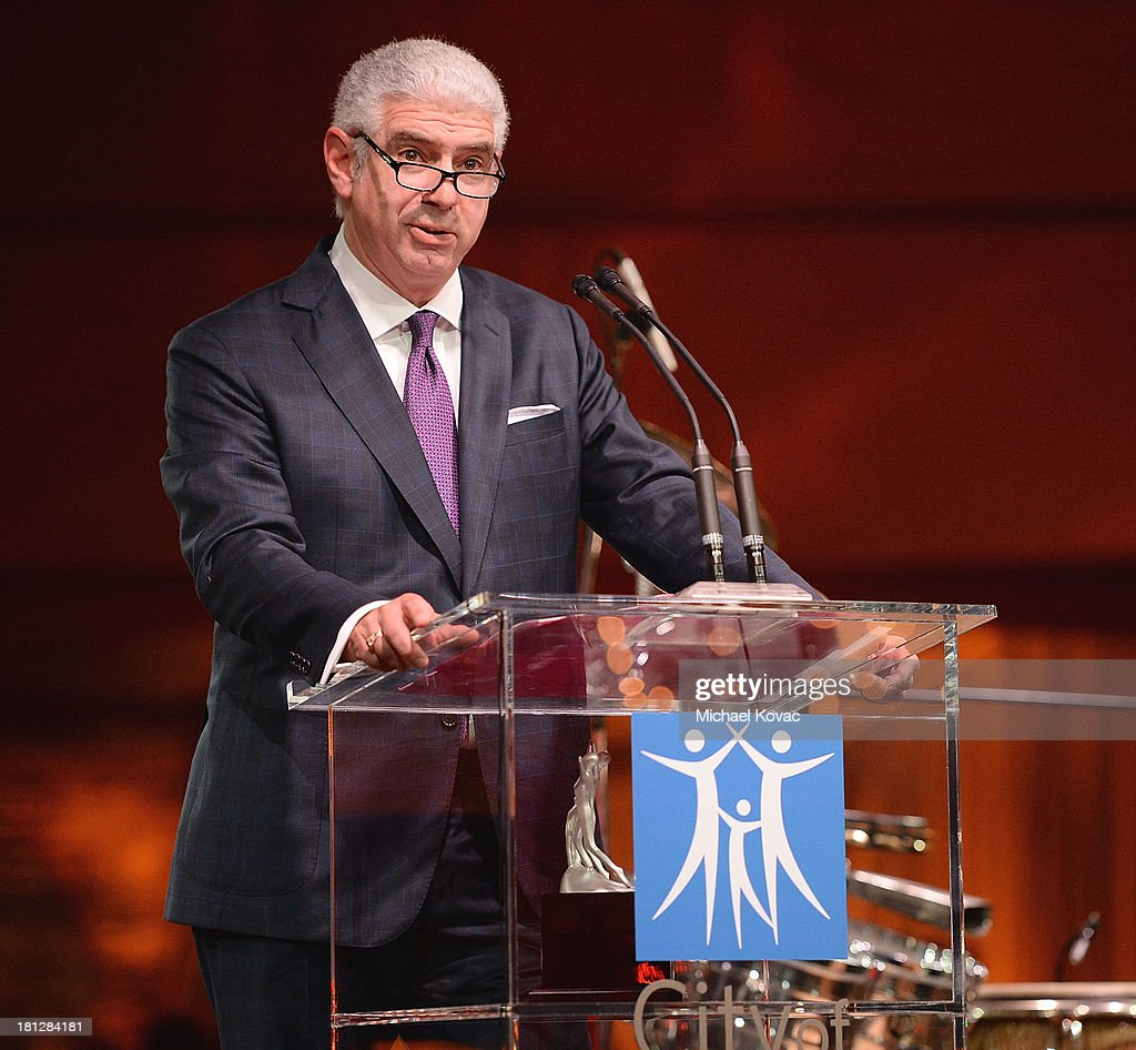 Head of Music Rob Light, recipient of the 2013 'Spirit of Life' award, presents onstage at the City Of Hope Spirit Of Life Gala on September 19, 2013 in Playa Vista, California.