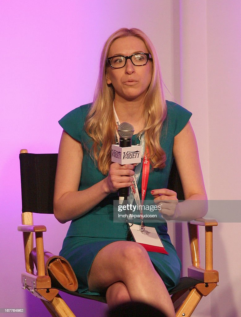 Head of New Products at ABC News Maya Baratz speaks onstage at Variety's Spring 2013 Entertainment and Technology Summit Co-Produced with Digital Hollywood at Ritz Carlton Marina Del Rey on April 29, 2013 in Marina del Rey, California.