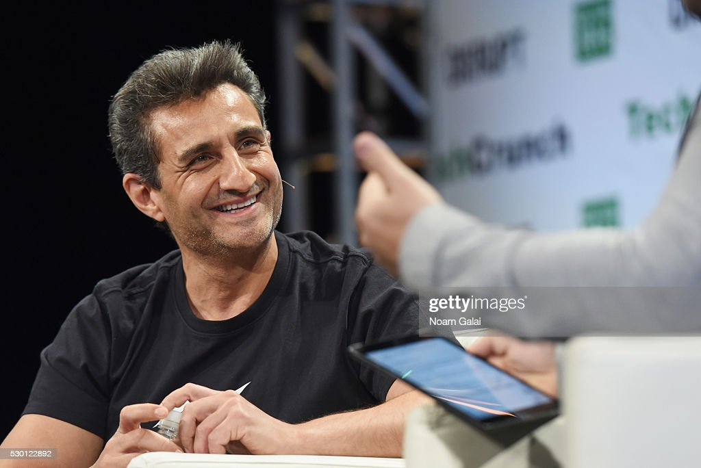 Head of Product for Messenger at Facebook Stan Chudnovsky speaks onstage during TechCrunch Disrupt NY 2016 at Brooklyn Cruise Terminal on May 10 2016...