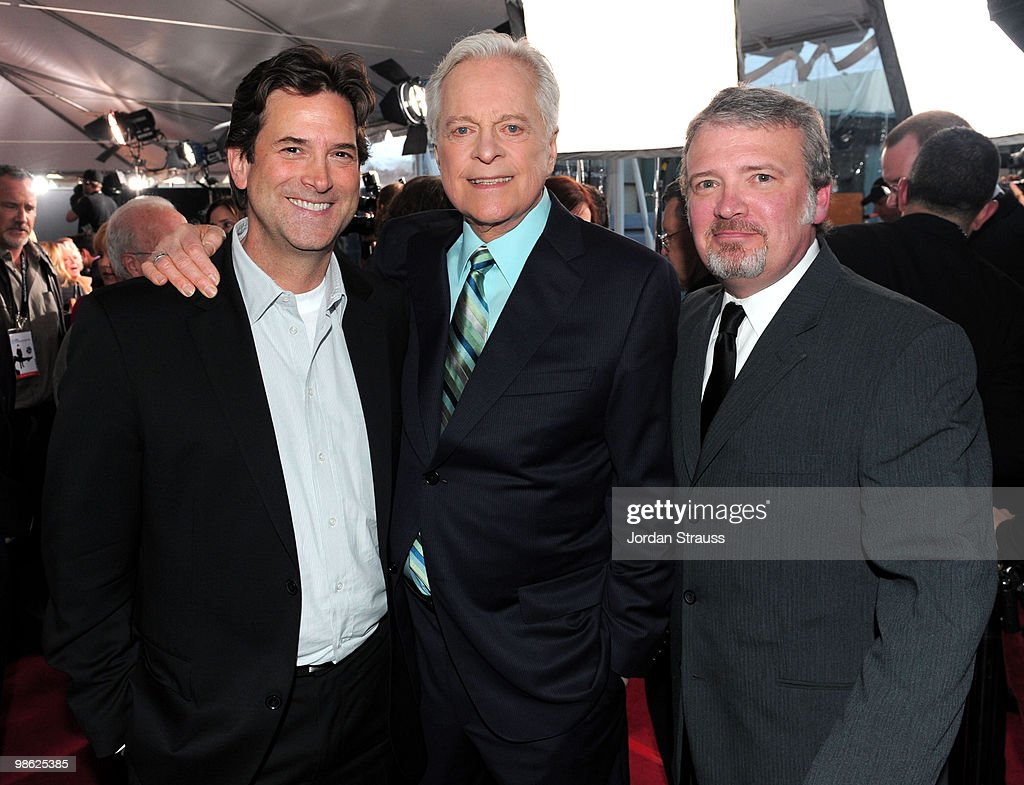 EVP Head of Programming for TBS TNT and Turner Classic Movies Michael Wright host of TCM Robert Osborne and VP of Original Productions for TCM Tom...