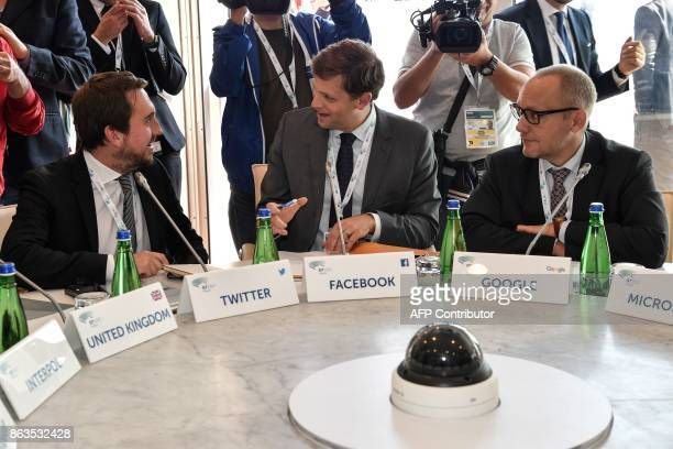 Head of Public Policy and Government for the UK and Israel at Twitter Nick Pickles Counterterrorism Policy Lead at Facebook Brian Fishman and Vice...