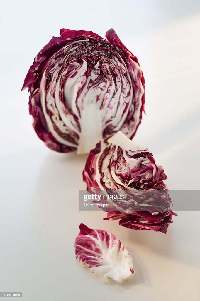 A head of radicchio