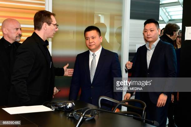 Head of Rossoneri Sport Investment Lux Chinese businessman and new owner of the AC Milan football club Yonghong Li and Rossoneri Sport Investment Lux...