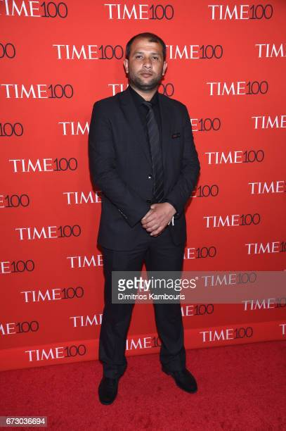 Head of Syria Civil Defense Raed Saleh attends the 2017 Time 100 Gala at Jazz at Lincoln Center on April 25 2017 in New York City
