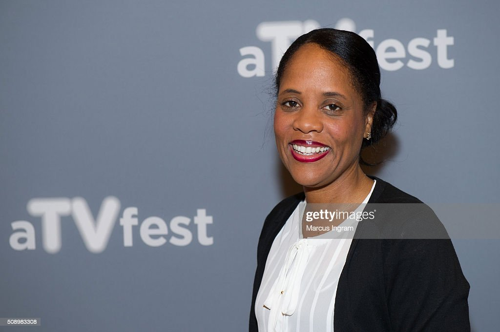Head of Television at Will Packer Productions Korin Huggins attends 'Uncle Buck' event during SCAD aTVfest 2016 Day 4 at the Four Seasons Atlanta Hotel on February 7, 2016 in Atlanta, Georgia.