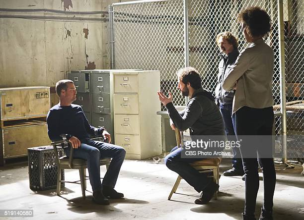 'Head of the Snake' Pictured Chris O'Donnell Peter Cambor and Judith Shekoni After Operational Psychologist Nate Getz fails to check in with Hetty...