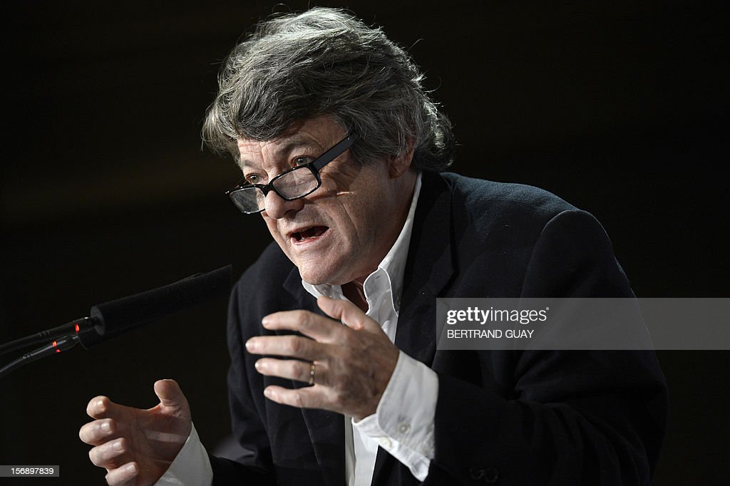 Head of Union of Democrats and Independents (UDI) party, Jean-Louis Borloo delivers a speech on November 24, 2012 at the 'Maison de la Mutualite' conference centre in Paris. France's centre-right UDI and far-right Front National (FN) recently declared registering an increasing number of new memberships since the bitterly contested leadership election of main opposition right-wing party Union for a Popular Movement (UMP). UMP appeared to have pulled back from the brink of disintegration, as both Jean-Francois Cope, the right-winger who was declared the winner of knife-edge vote last November 18, and his centrist rival Francois Fillon have agreed to mediation intended to establish who actually won and whether mutual allegations of ballot rigging had any foundation.