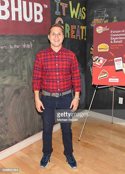 Head of US Marketing for Reebok David Oksman attends Brand Innovators Future of Consumer Experience Retail hosted by Seamless on June 8 2016 in New...