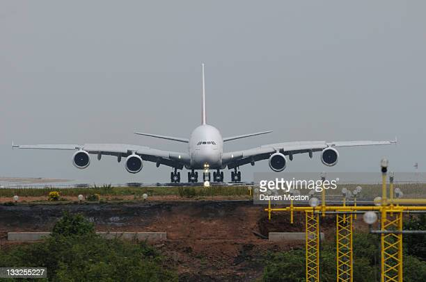 Head on A380