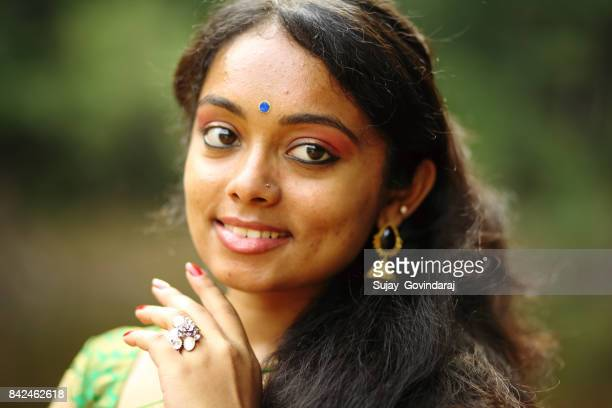 Head Shot of an Indian Woman