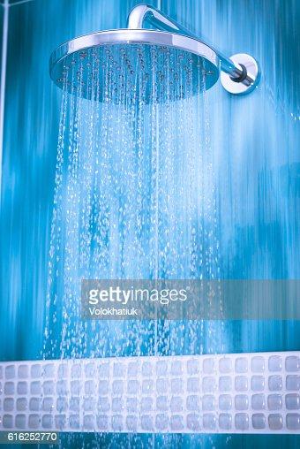 Cabezal de ducha  : Foto de stock