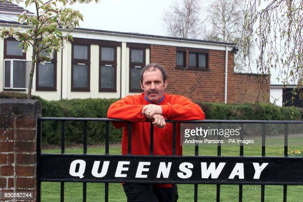 Head teacher Ralph Hedley at Queensway Community Junior School in Thetford Norfolk who was forced to teach three classes together because teachers...