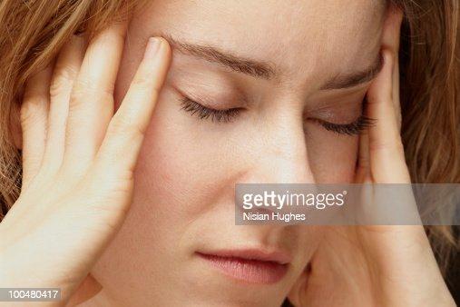 headache : Bildbanksbilder