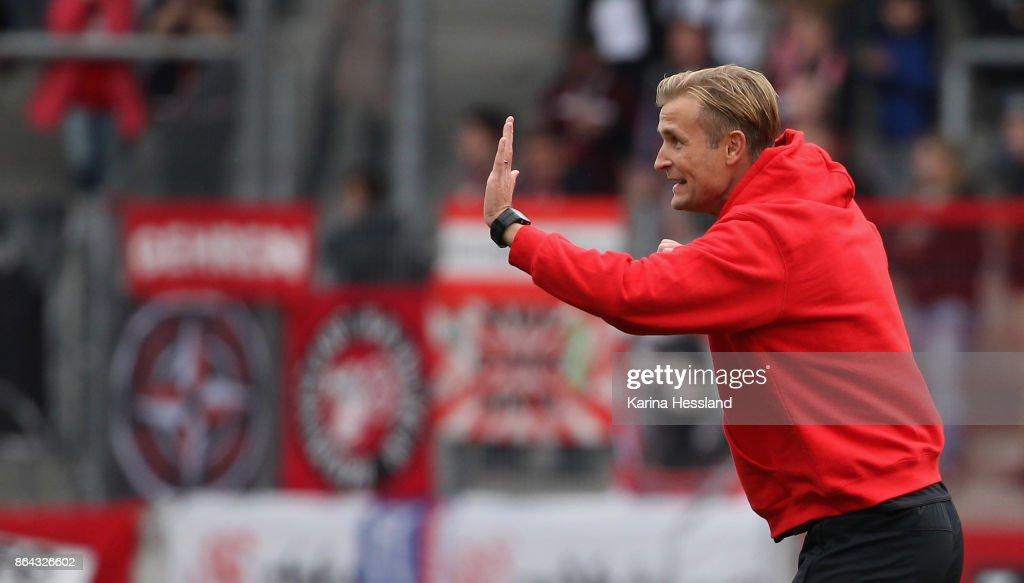 FC Rot-Weiss Erfurt v Hallescher FC - 3. Liga