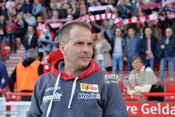Headcoach Sascha Lewandowski dies at 44 on Juni 8 2016 in Bochum Germany Archivfoto Trainer Sascha Lewandowski vom 1 FC Union Berlin vor dem Spiel...