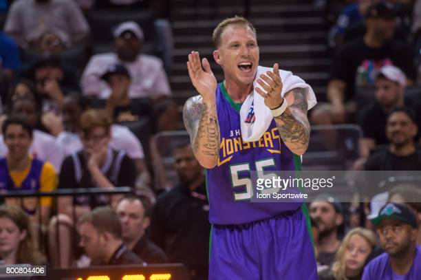 Headed Monsters player Jason Williams during a BIG3 Basketball League game on June 25 2017 at Barclays Center in Brooklyn NY
