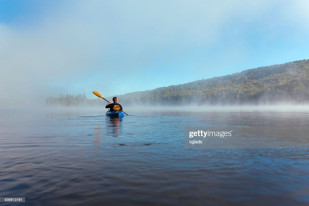 Heading into the Lake : Stock Photo