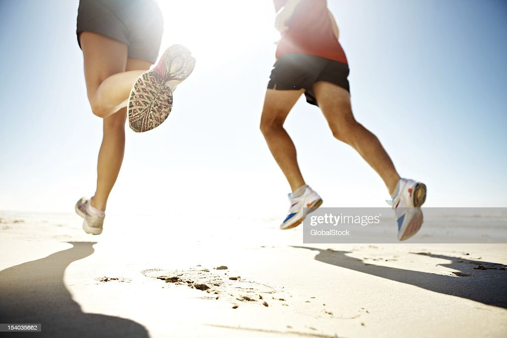 Heading towards greater health : Stock Photo