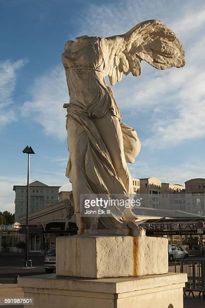 Headless goddess Nike statue