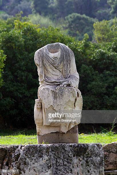 Headless Statue at the Ancient Agora of Athens