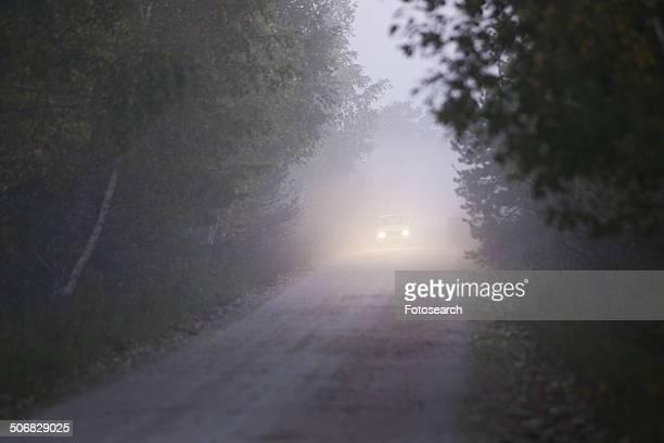 Headlights in the fog