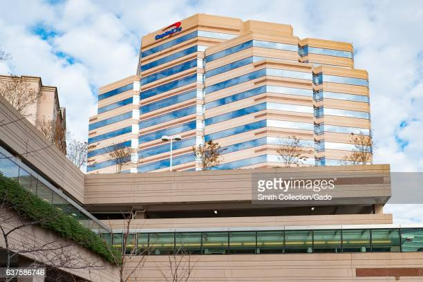 Headquarters for Capital One bank in Tysons Virginia December 7 2016