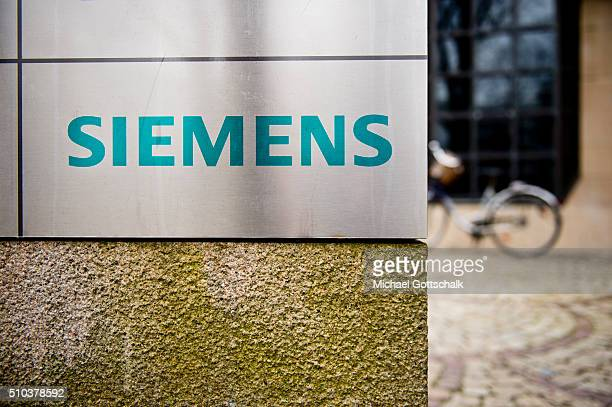 Headquarters of Siemens AG on February 15 2016 in Munich Germany