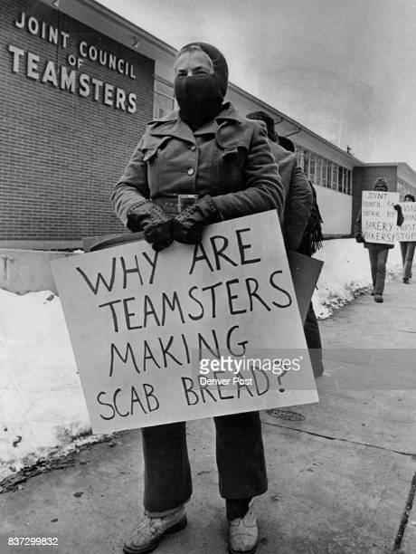 Headquarters Of Teamsters' Union Picketed Members of Denver Local 72 Bakery and Confectionery Workers International Union of America picketed...