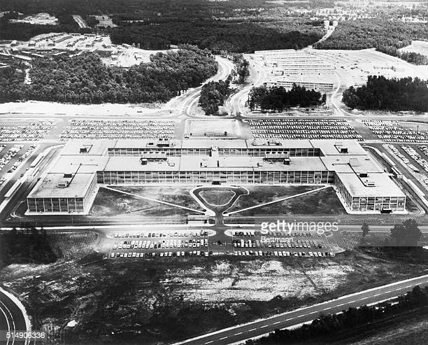 Headquarters of the National Security Agency located at Fort George G Meade in Maryland