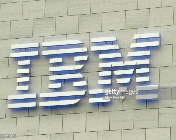 IBM headquarters stands January 12 2003 in Brussels Belgium IBM developes and manufactures information technologies including computer systems...