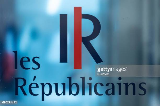 Heads of the Right wing and center parti Les Republicains gathered at the Headquarters for a meeting to think about a new strategy in the second...