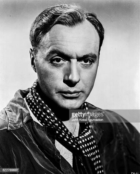 Headshot of actor Charles Boyer for Warner Brothers Studios 1945