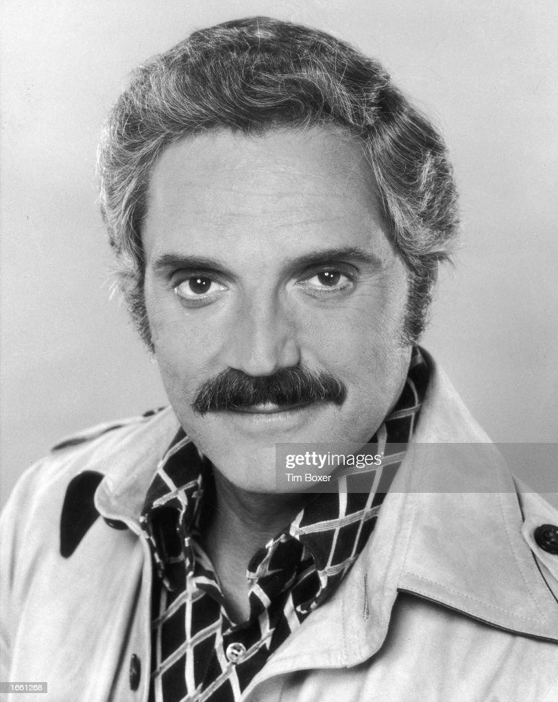 Headshot of American actor Hal Linden, 1970s.