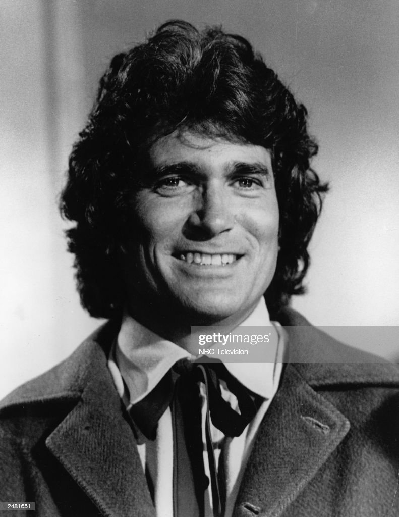 Headshot of American actor <a gi-track='captionPersonalityLinkClicked' href=/galleries/search?phrase=Michael+Landon&family=editorial&specificpeople=228407 ng-click='$event.stopPropagation()'>Michael Landon</a> (1936 - 1991) smiling in costume from the television series, 'The Little House On The Prairie,'