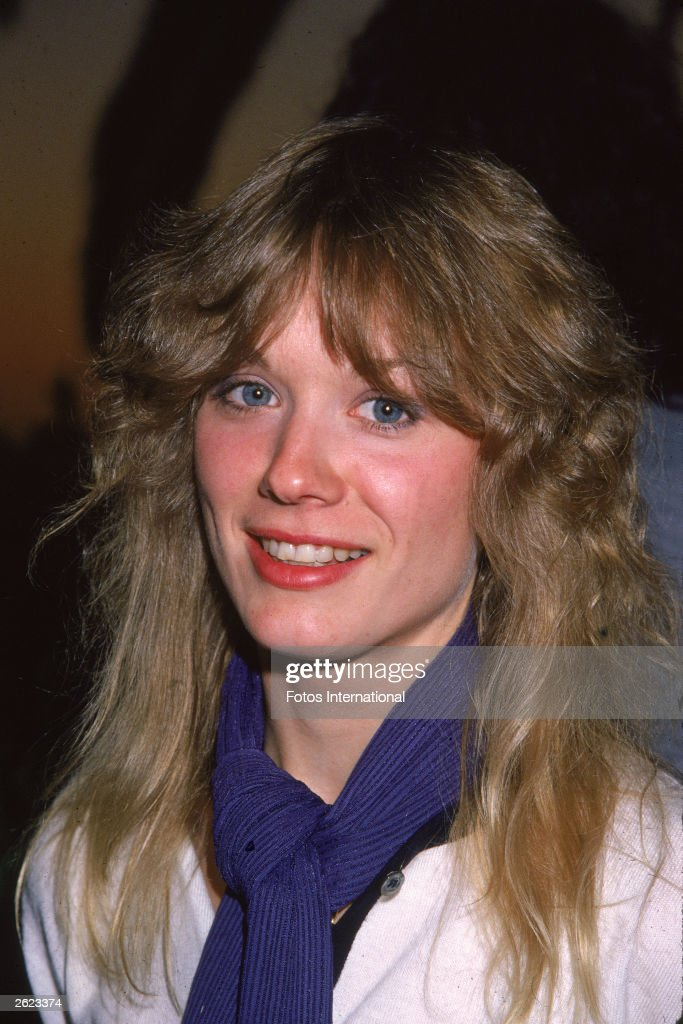 A headshot of American rock guitarist Nancy Wilson of the band Heart circa 1977