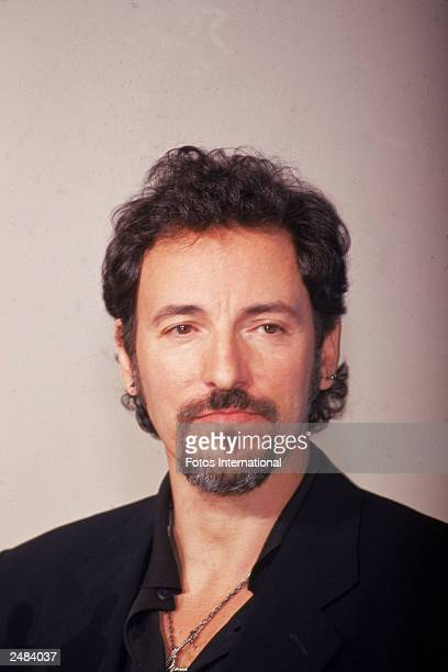 Headshot of American rock singer and songwriter Bruce Springsteen attending the Academy Awards Los Angeles California March 21 1994