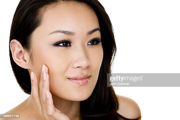 Headshot of beautiful Asian woman