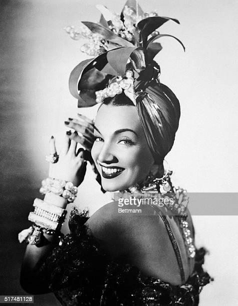 Headshot of Carmen Miranda