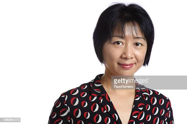 Headshot of Chinese businesswoman