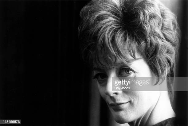 Headshot of Maggie Smith British actress 21 February 1969