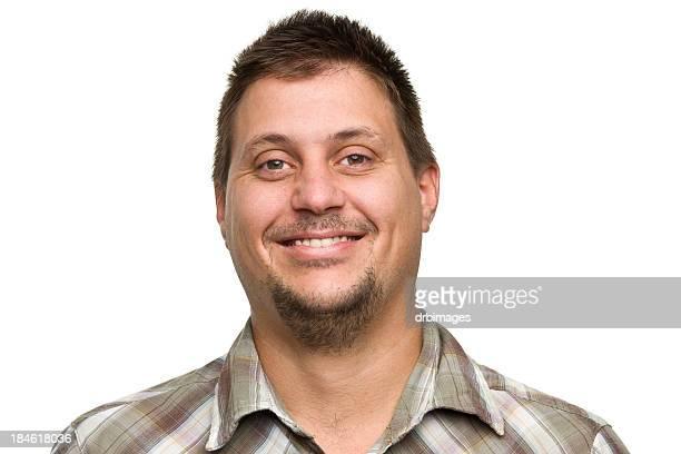 Headshot of smiling man looking at the camera