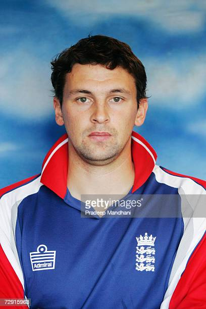 A headshot of Steve Harmison of England taken ahead of the ICC Champions Trophy on October 2 2006 in Mumbai India